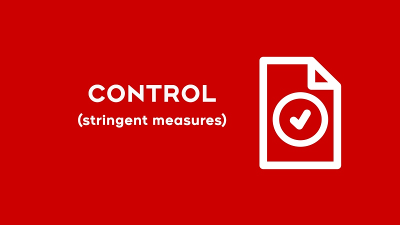 Red-Control under Ontario's COVID-19 Restrictions