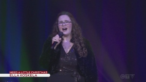 Ella Koskela sings We Need A Little Christmas