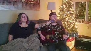 Jessie and Shelly from Kapuskasing give us a holiday treat as they cover Mariah Carey's 'All I want for Christmas.'