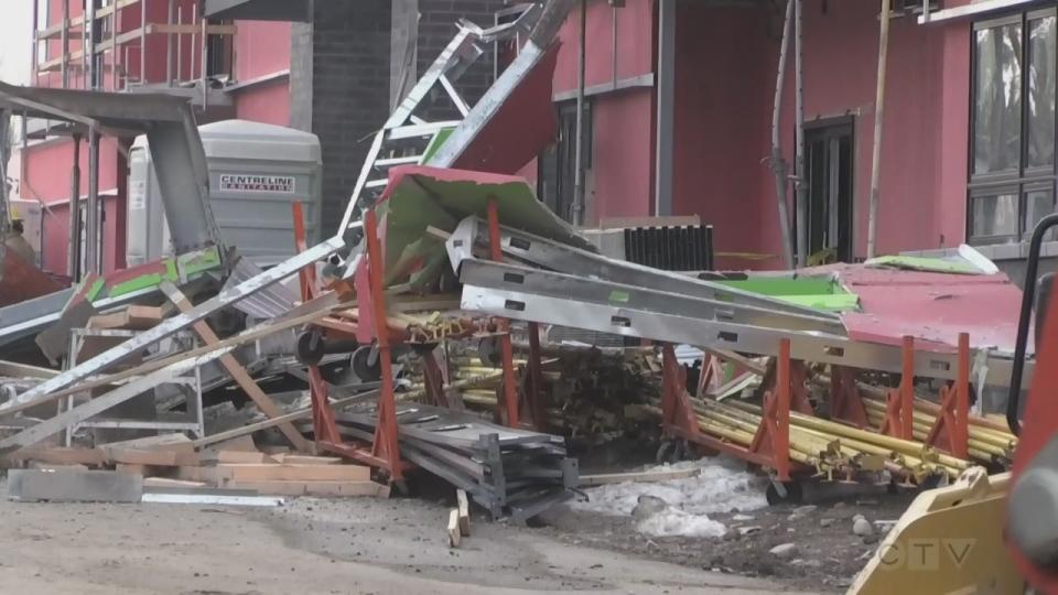 Teeple Terrace collapse