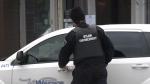Bylaw enforcement officer in Windsor, Ont. on Monday, Dec. 14, 2020. (Chris Campbell/CTV Windsor)