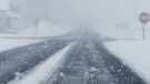 Environment Canada cautions of reduced visibility on roads on Mon., Dec. 14, 2020, as a winter travel advisory is issued.