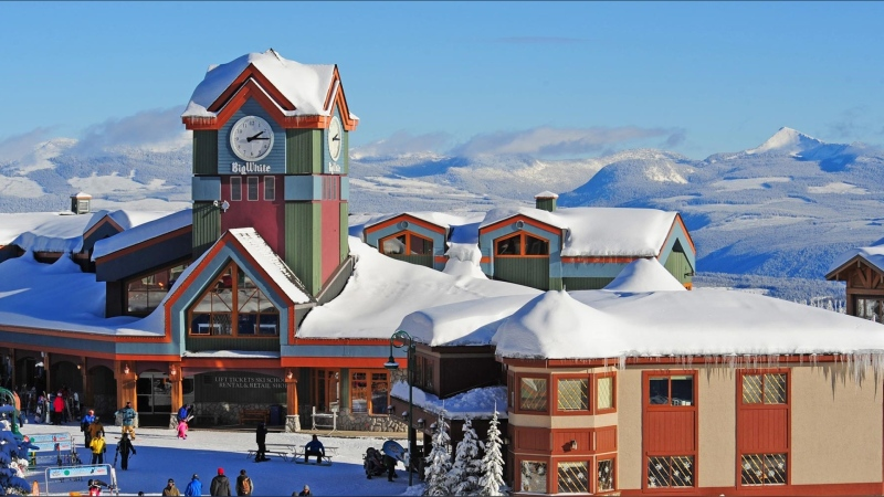 An image of Big White Ski Resort near Kelowna in the Southern Interior of British Columbia. Source: Big White Ski Resort