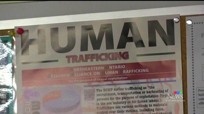 Following recommendations from a seven-year human trafficking study in northeastern Ontario, a new committee has been formed to help address the problem and provide services in the Nipissing district. (Alana Pickrell/CTV News)