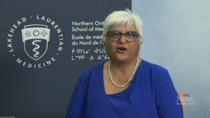 Dr. Sarita Verma, dean of the Northern Ontario School of Medicine in Sudbury (CTV Northern Ontario)