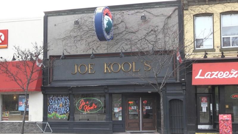 Joe Kool's in London, Ont. on Dec. 15, 2020. (Jordyn Read/CTV London)