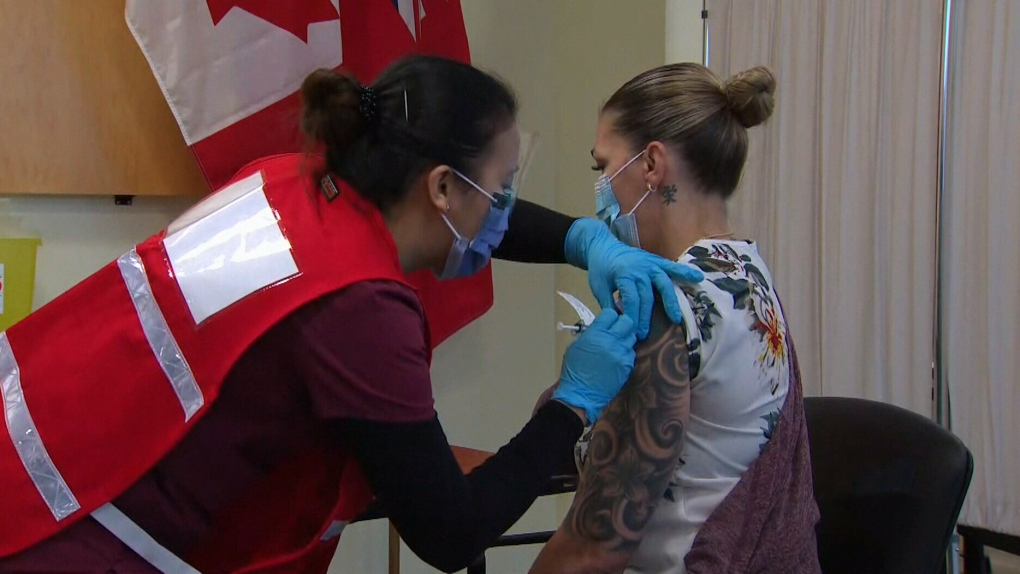 First vaccine given in Ottawa