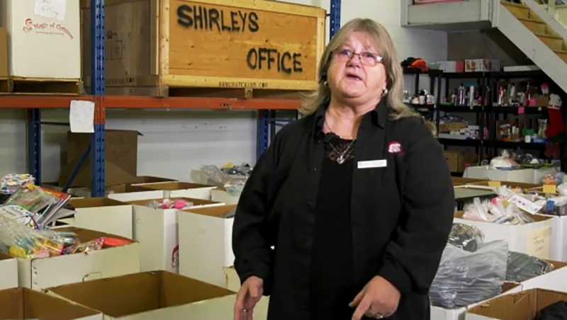 She's been a volunteer for 25 years and she's this week's Inspired Albertan, Shirley Sangster. Darrel Janz reports