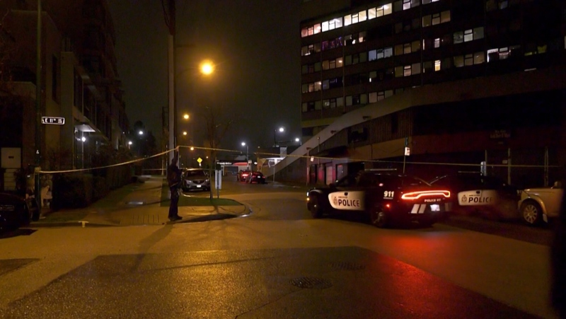A stabbing that left a person with critical injuries was under investigation in Vancouver on Dec. 15, 2020.