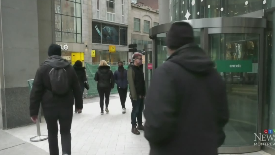 Quebecers brace for holiday lockdown.