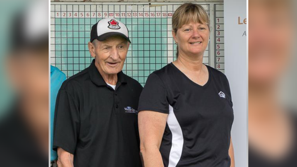 Walter Gretzky and June Dobson