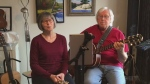 Tonight's song is a lovely Christmas tune from Brian and Louise Williams in Elliot Lake, who perform a holiday classic.