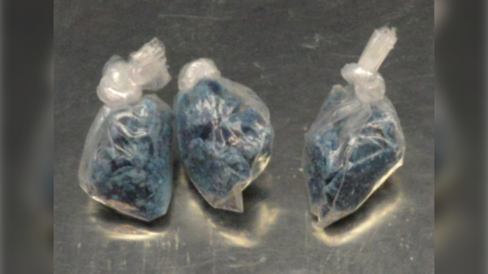 Blue fentanyl seized in drug bust