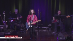 Seth Goudreau performs Twist And Shout