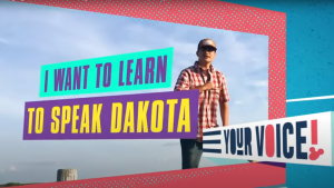"""Saskatchewan's Jacob Pratt, and his production company Skoden Entertainment, created videos for the Disney Channel show """"Use Your Voice."""" (YouTube/Disney Channel)"""