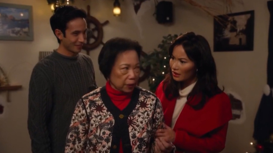 Vancouver actor Jacky Lai said she was surprised when she first saw the script because she's never seen someone who looked like her take a leading role in a Christmas film.