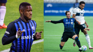 Montreal Impact forward Romell Quioto was named the team's MVP while defeder Luis Binks took home top defenceman honours. THE CANADIAN PRESS/Paul Chiasson, THE CANADIAN PRESS/Jonathan Hayward