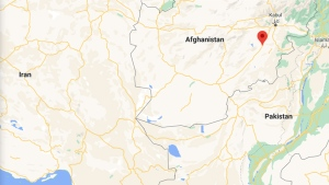 Afghanistan is shown on this map. (Google)