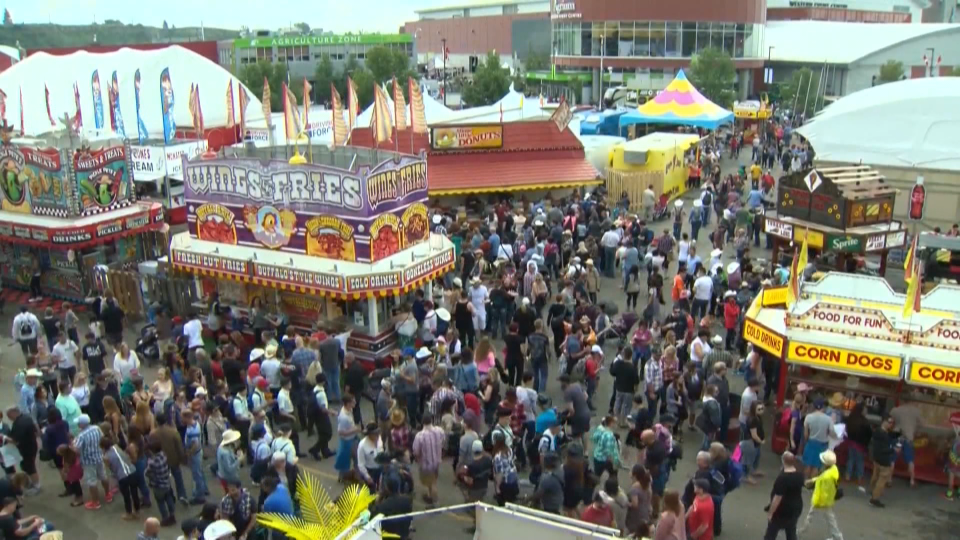 Calgary Stampede, midway