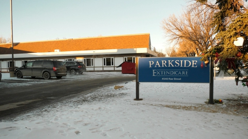 Extendicare Parkside in Regina (Marc Smith / CTV News)