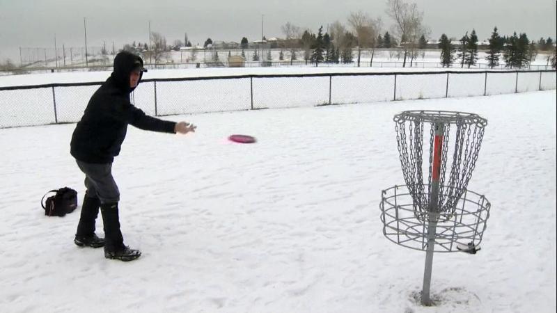 Calgary disk golf John McCaffrey