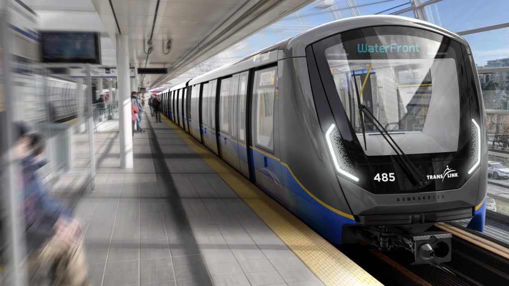 Bombardier to build SkyTrain cars for TransLink.