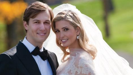Ivanka Trump And Jared Kushner Attend Their Wedding