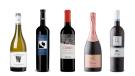 Calmel & Joseph Villa Blanche Chardonnay 2019, Badel Plavac Red 2018, Emiliana Coyam 2017, Andrew Peller Limited Trius Rosé Sparkling, Domain Mega Spileo Cuvée III White 2018