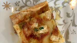 Leek, Apple and Brie Tart