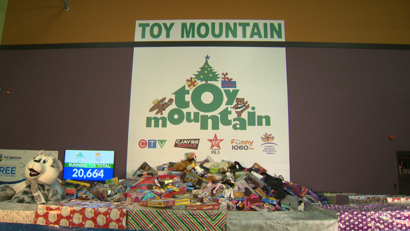 CTV Toy Mountain 2020 raises more than $800,000 for Calgary Women's Emergency Shelter. In 7 years we've raised over 3 Million in donations!