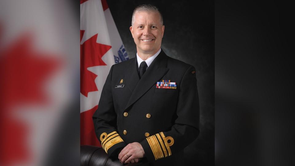 Vice-Admiral Art McDonald