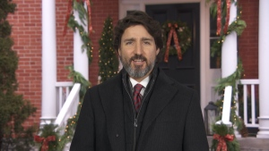 """Prime Minister Justin Trudeau is urging Canadians to """"give thanks for everything that unites us"""" in his annual Christmas message."""