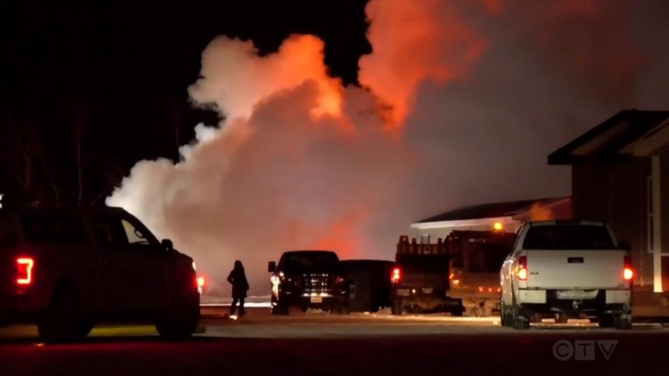 Headingley Fire