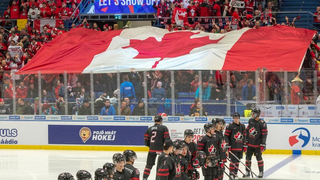 Canada Flag World Juniors