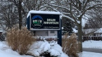 The Boler Mountain entrance sign is seen on Dec. 26, 2020. (Reta Ismail/CTV News)