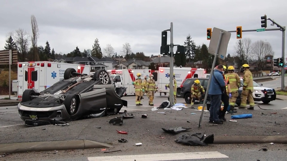 Coquitlam crash