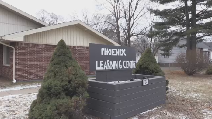 The Phoenix Learning Centre is where Fredericton's homeless population can spend their days inside to keep warm.