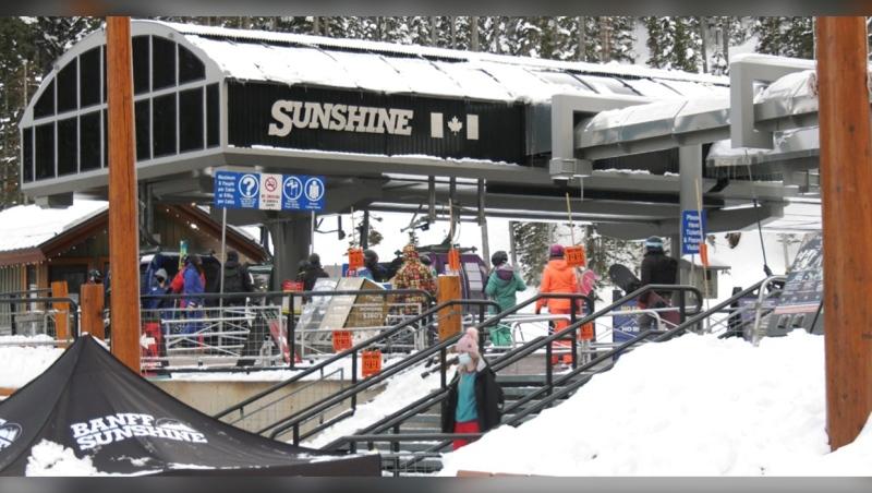 Banff Sunshine Village ski resort in Banff National Park. (file)