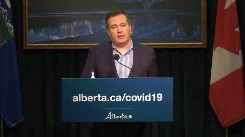 Premier Jason Kenney is scheduled to speak at 2:30 p.m.