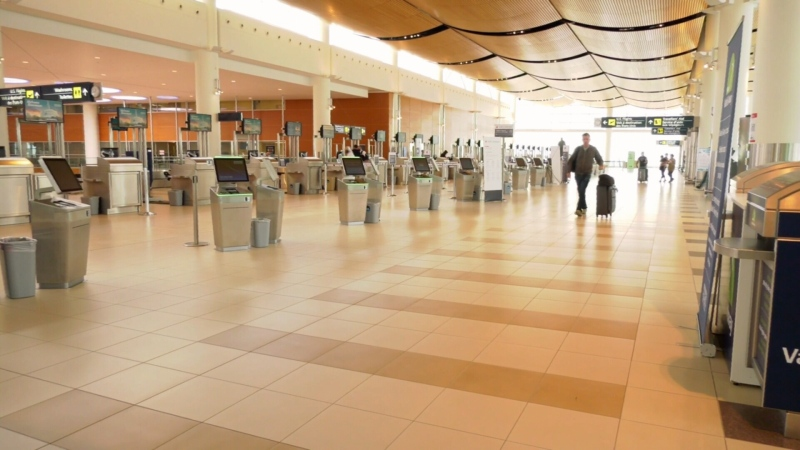 Winnipeg James Armstrong Richardson International Airport is pictured in an undated image. While Manitoba's public health order states people entering the province must self-isolate for 14 days, not all travellers are following the rules. (CTV News file photo)