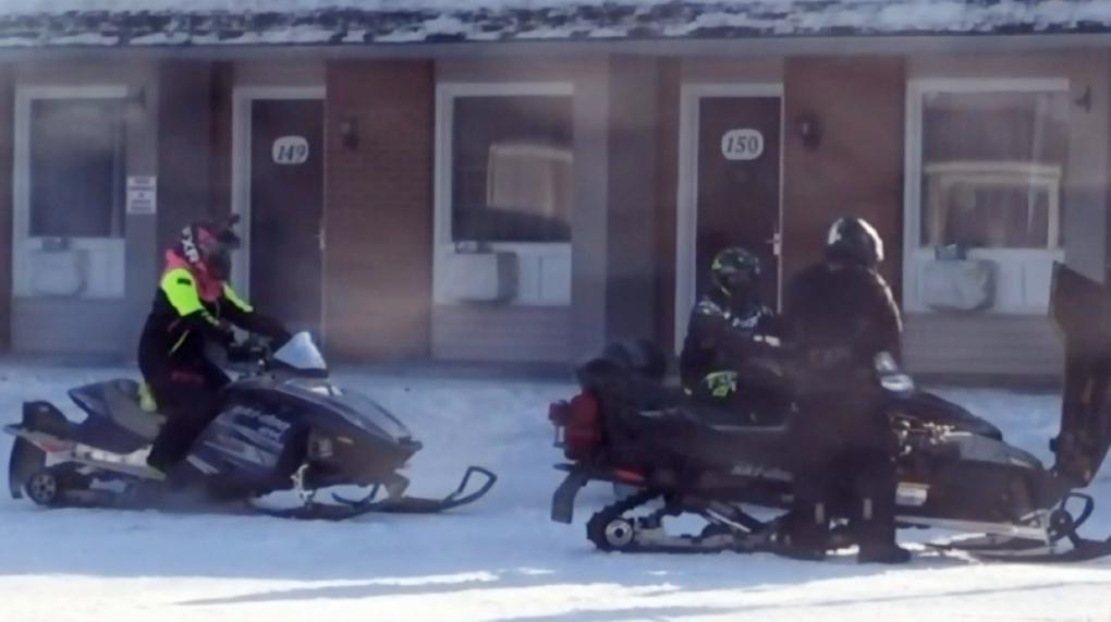 Cochrane snowmobiles