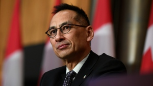 Deputy Chief Public Health Officer Dr. Howard Njoo participates in a news conference on the COVID-19 pandemic in Ottawa, on Wednesday, Dec. 30, 2020. THE CANADIAN PRESS/Justin Tang