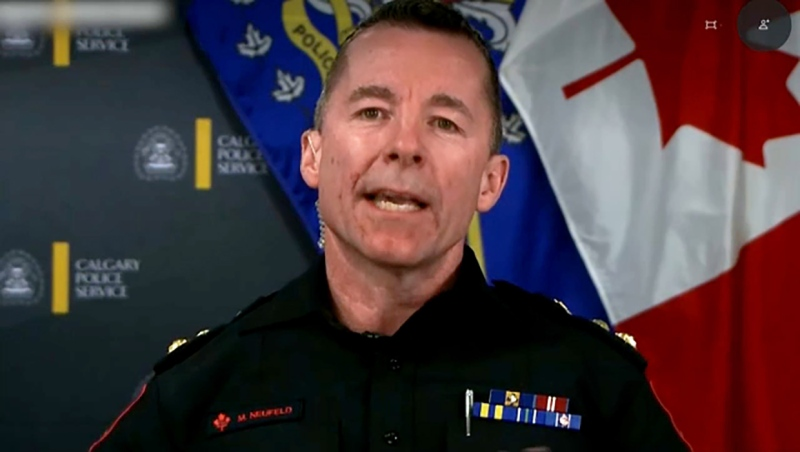 CTV News anchor Tara Nelson's year-end interview with Calgary police chief Mark Neufeld