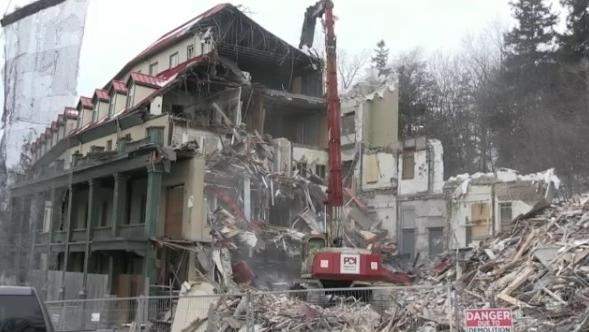 preston springs hotel cambridge demolition