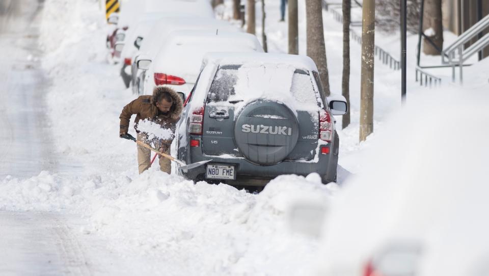 Snow has fallen, get the shovels out