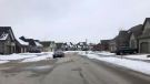 Callingham Drive in north London, Ont. is seen Monday, Jan. 4, 2021. (Jim Knight / CTV News)