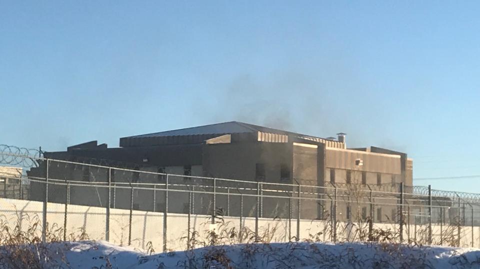 Prince Albert Correctional Centre fire