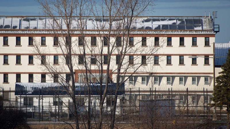 Exterior view of Joyceville Institution in Kingston, Ontario. THE CANADIAN PRESS/Lars Hagberg