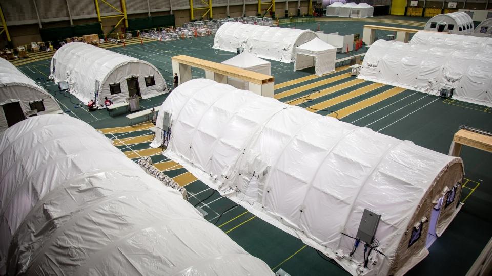 Red Cross, Edmonton, field hospital