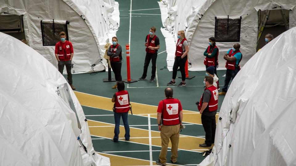 Red Cross field hospital, Edmonton
